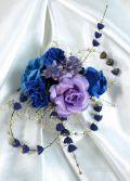 和装髪飾り(コームタイプ)/藍珠雫