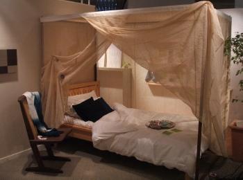 ヘンプ(大麻)100% ベッド用蚊帳