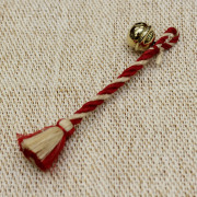 【五色・きなり再入荷】ミニ鈴緒(京都伝統工芸士) ~お守りに~