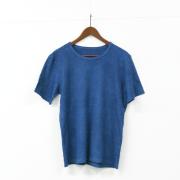 藍染めヘンプT