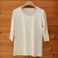 ヘンプ七分袖Tシャツ