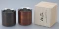 【日本製】 漆磨(シーマ) 本漆塗り 2重構造 ロックカップ 1客(赤/黒)
