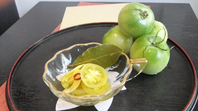 【夏季限定】グリーントマトのカレーピクルス