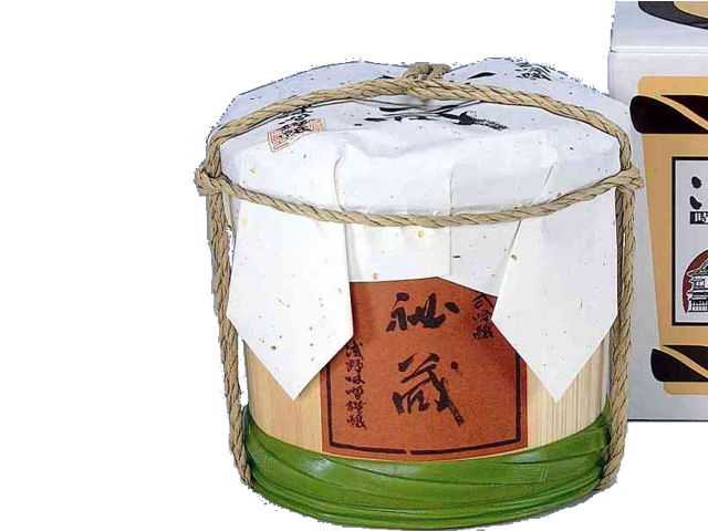 古式吟醸『秘蔵』 2kg 木樽入 K-2