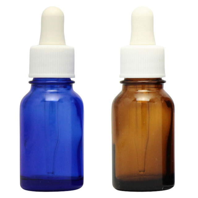 [ドーセージボトル 10ML MIX(ブルー ブラウン)合計24本セット]ドーセージボトルスプレー