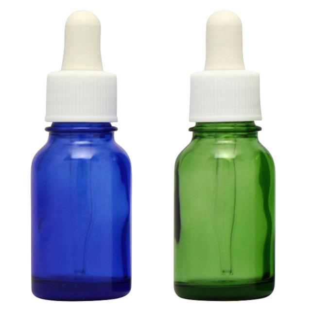 [ドーセージボトル 10ML MIX(ブルー グリーン)合計24本セット]ドーセージボトルスプレー