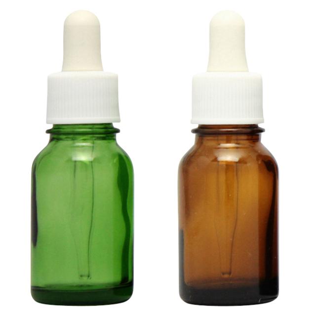 [ドーセージボトル 10ML MIX(グリーン ブラウン)合計24本セット]ドーセージボトルスプレー
