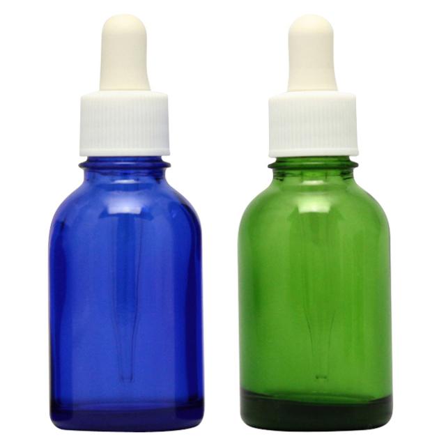 [ドーセージボトル 20ML MIX(ブルー グリーン) 合計24本セット]ドーセージボトルスプレー