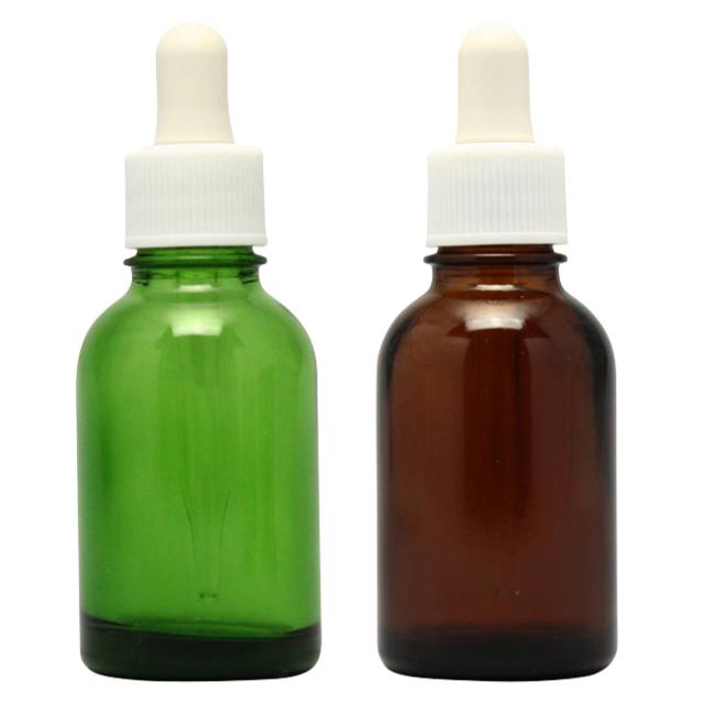 [ドーセージボトル 20ML MIX(グリーン ブラウン) 合計24本セット]ドーセージボトルスプレー