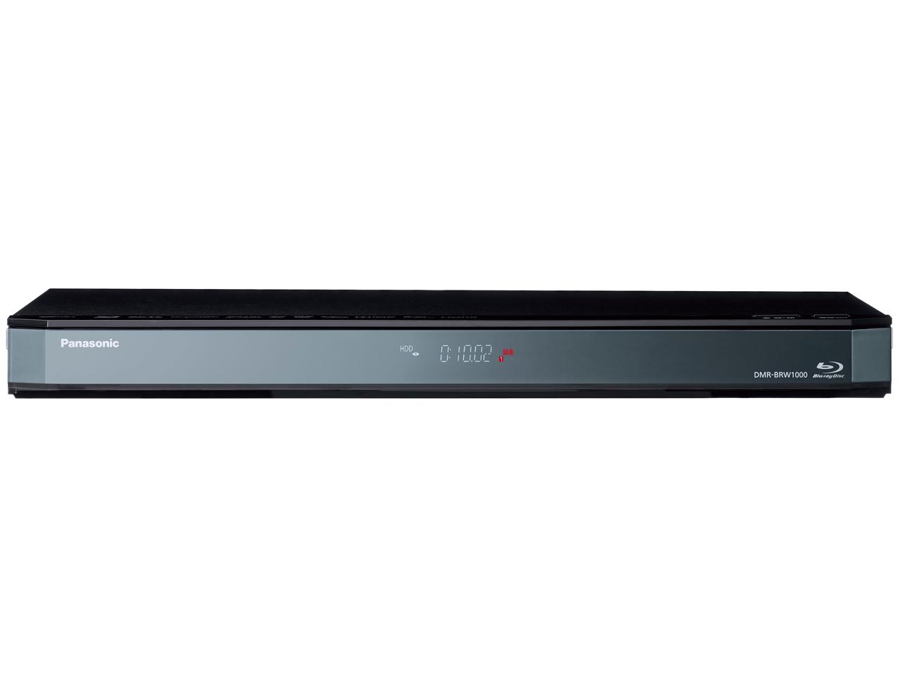 パナソニック 1TB 3DHDDハイビジョンブルーレイレコーダー DMR-BRW1010