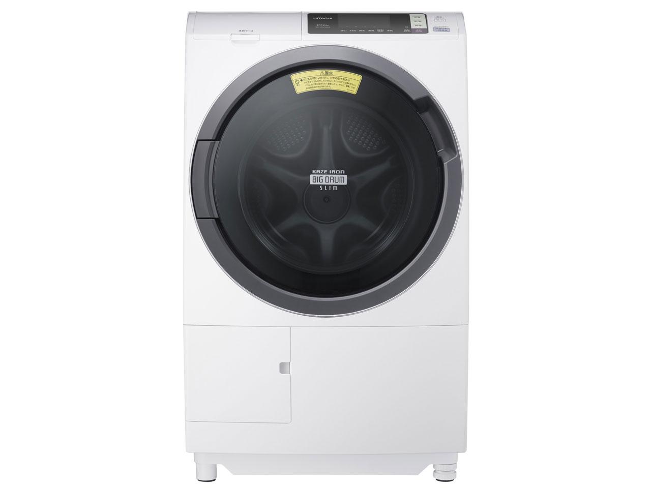 BD-SG100AL-W 日立 ドラム洗濯乾燥機