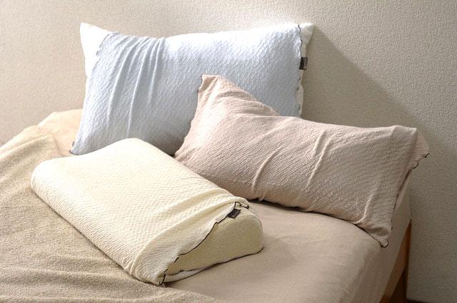 いろんな枕にフィット!のびるのびるモダールニットのストレッチ素材!とろける肌ざわりSweetスウィートピロケース(腹巻きタイプ)