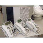 ビジネスホン NXS-ME TypeS(1) 電話機3台セット/中古