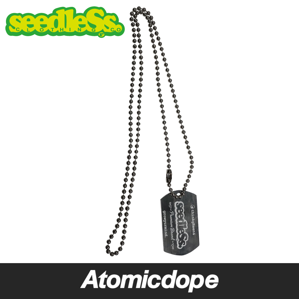 seedleSs sd dog tag necklace ドッグタグ ネックレス Silver 銀 シードレス