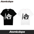 【Atomicdope】10th Anniversary Party! 限定イベントTシャツ 黒 白 Tee Black White 半袖 アトミックドープ