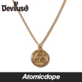 Deviluse ネックレス 金 Coin Neckless Gold デビルユース