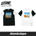 ������̵���ۡ�LEFLAH��DAY AND NIGHT T����� Ⱦµ �� �� T-SHIRTS Black White ��ե顼