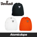 【Deviluse】Geometry Heart ロンT 長袖 Long Sleeve T-shirts デビルユース