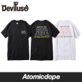 Deviluse DOG SIDE Tシャツ 黒 白 T-Shirts Black White デビルユース