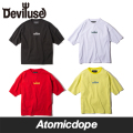 Deviluse Logo embroidered ビッグ Tシャツ Big T-shirts デビルユース
