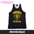 ������̵���ۡ�MISHKA��DA ATHLETICS ���󥯥ȥå� �� BASKETBALL JERSEY TANK TOP Black Yellow �ߥ���