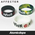 【AFFECTER】AFF LUV BAND2 White Black Marble ラバーバンド 黒 白 蓄光 アフェクター