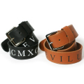 ������̵���ۡ�Deviluse��Leather Belt Black Brown �٥�� �쥶�� �� ��