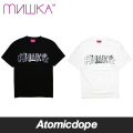 ������̵���ۡ�MISHKA x CHOCOMOO��LOGO Tee T�����Ⱦµ �� �� Black White �ߥ��� x ���祳�ࡼ