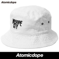 【Atomicdope】NEW DOPE CITY BACKET HAT White バケットハット ホワイト 帽子 白 アトミックドープ