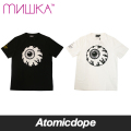 【送料無料】【MISHKA】DEATH ADDERS KEEP WATCH Tシャツ 半袖 黒 白 TEE Black White ミシカ