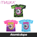 ������̵���ۡ�MISHKA��LAMOUR KEEP WATCH WAVE TIE DYE T����� �������� Ⱦµ TEE �ߥ���