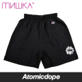 ������̵���ۡ�MISHKA��DAMAGED KEEP WATCH ���硼�ȥѥ�� �� SHORTS Black �ߥ���