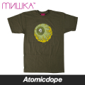 【送料無料】【MISHKA】Lamour Keep Watch Tシャツ 半袖 緑 TEE MilitaryGreen Olive ミシカ
