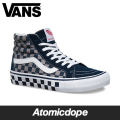������̵���ۡ�VANS��SK8-HI REISSUE PRO ���ˡ����� �����å��� �� �� �� Checker Blue Grey �Х�