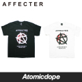 【AFFECTER】Stand Tシャツ 半袖 黒 白 S/S TEE Black White アフェクター