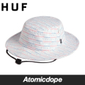 ������̵���ۡ�HUF��FUCK IT PUSH THRU JUNGLE HAT White ����󥰥�ϥå� ˹�� �� ���� �ϥ� ������ L/XL
