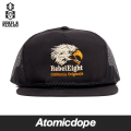 ������̵���ۡ�REBEL8��HOP-HEAD ���ʥåץХå�����å� ˹�� �� SNAPBACK Black ��٥륨����