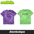 【seedleSs】tie die Tシャツ 紫 緑 t-shirts Purple Green シードレス