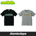 seedleSs sd spot color COOP logo Tシャツ 半袖 黒 灰 s/s tee Black Grey シードレス