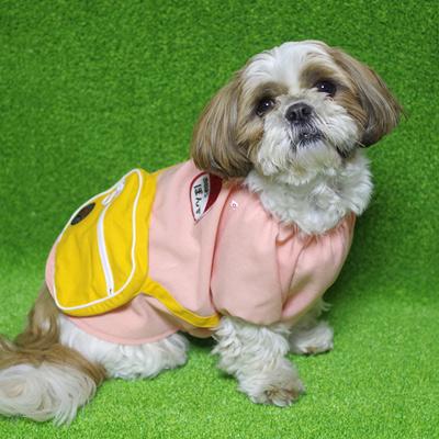 犬の服『幼稚園コスチューム』ピンク