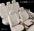 オートウェア製HONDAエディックス後期型専用シートカバー「ポイント」