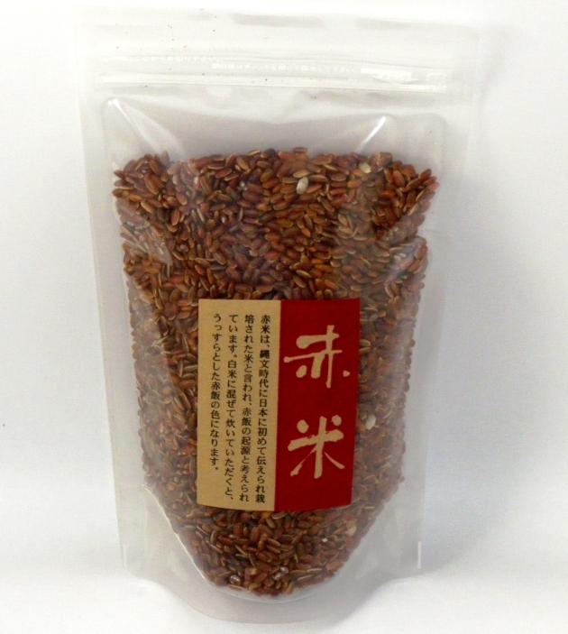 あぐりステーションみのり産赤米です