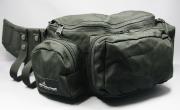 ブッシュウォーカー(BUSHWALKER) トレーナーズバッグ DELUX BELT BAG (黒) W450 x D146 x H152