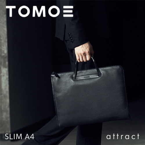 TOMOE トモエ SLIM A4 スリム A4 クラッチバッグ