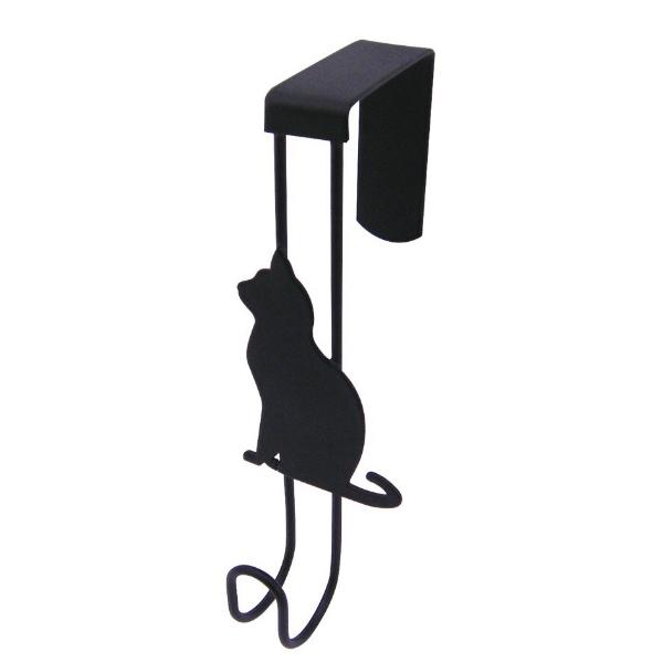 黒猫モチーフアイアンドアフック