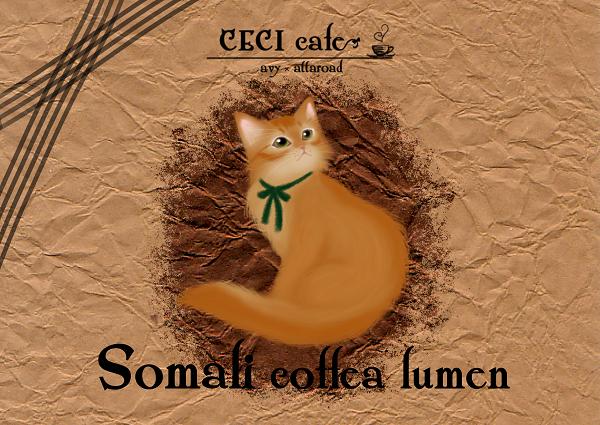 ソマリコーヒーラベル