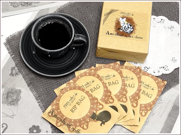 (cecicafe)猫デザインドリップバッグコーヒー10g×5袋入り