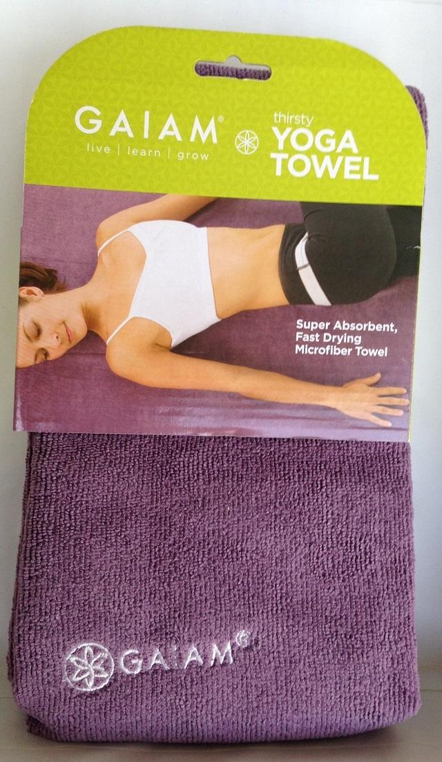 yoga, towel, gaiam, ガイアム