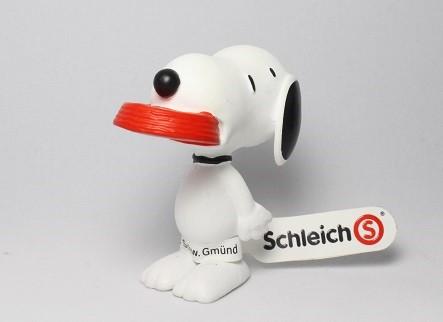 Schleich 食事スヌーピー