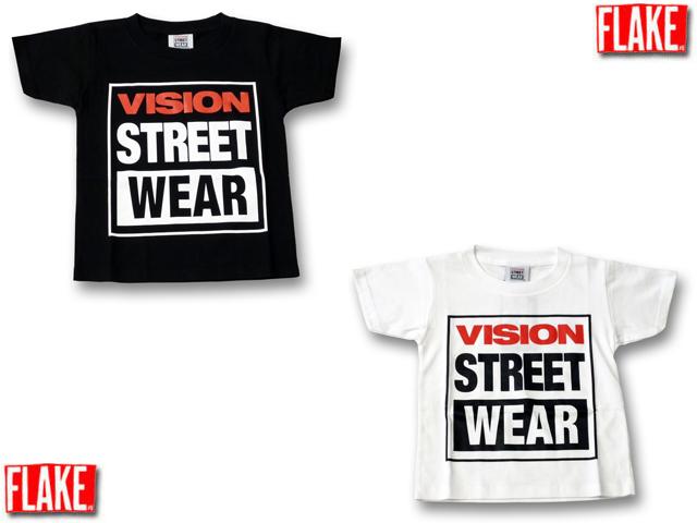 FLAKE VISION STREET WEAR Tシャツ【フレイク 子供服 キッズダンス衣装にも!】】